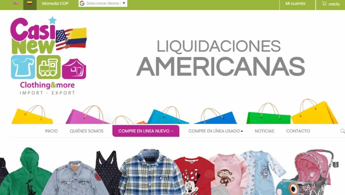 Casi New Liquidaciones Americanas