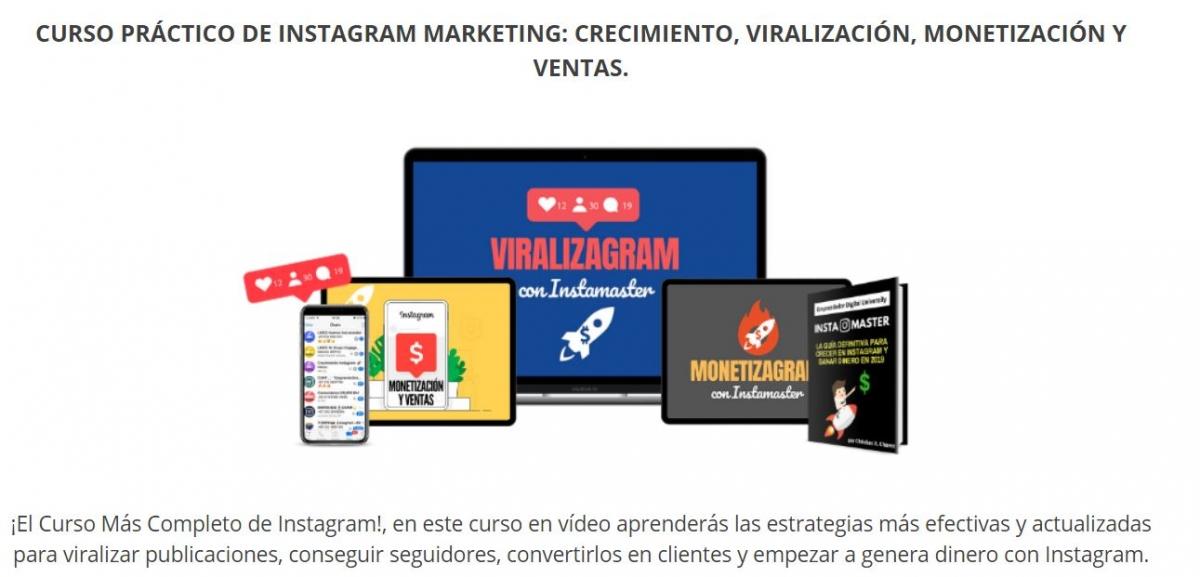 CURSO PRÁCTICO DE INSTAGRAM MARKETING