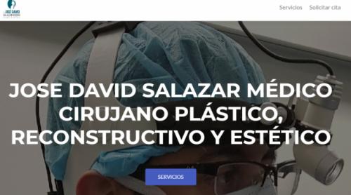 Jose David Salazar, Medico Cirujano Plástico