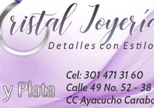 Joyas y bisutería  Cristal Joyería.