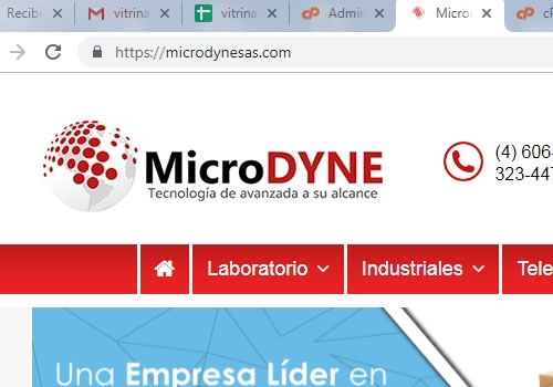 MicroDYNE Tecnología