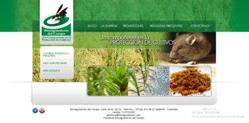 Productos biológicos para control de plagas Bioreguladores del campo