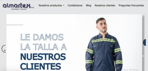 Uniformes empresariales Almartex