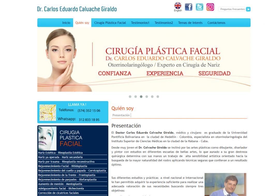 Plastica Facial Calvache cirugia estetica