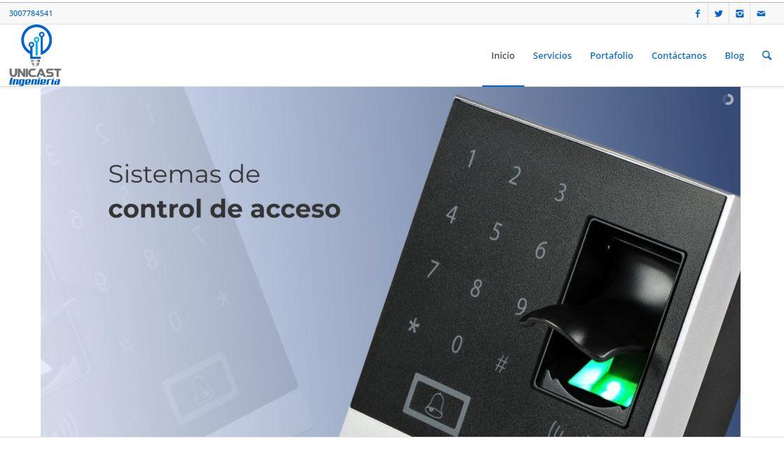 Unicast Ingenieria camaras Medellin seguridad productos