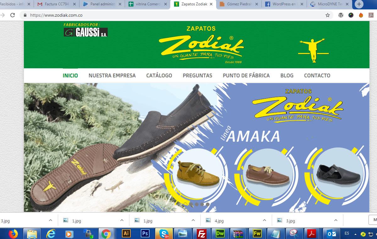Zapatos Zodiak un guante para tus pies