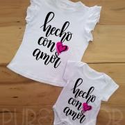 Apliques y camisetas personalizadas Puro Amor
