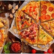Pizza a Elección de la Carta de 8 Porciones (32 Centímetros de Diámetro). Opción a Gasesosa 1.5 lts en Pa&zza Pizza y Pasta.