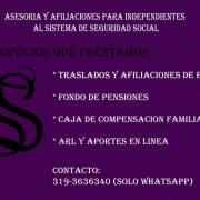 Asesorias Seguridad Social Medellin