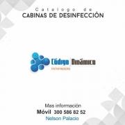 Cabinas de desinfeccion de el covid-19