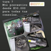 Hospiplay reparación de consolas en medellín